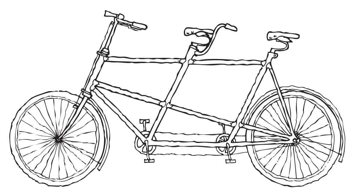 Clipart Tandem Bike Clipartfest-Clipart Tandem Bike Clipartfest-2