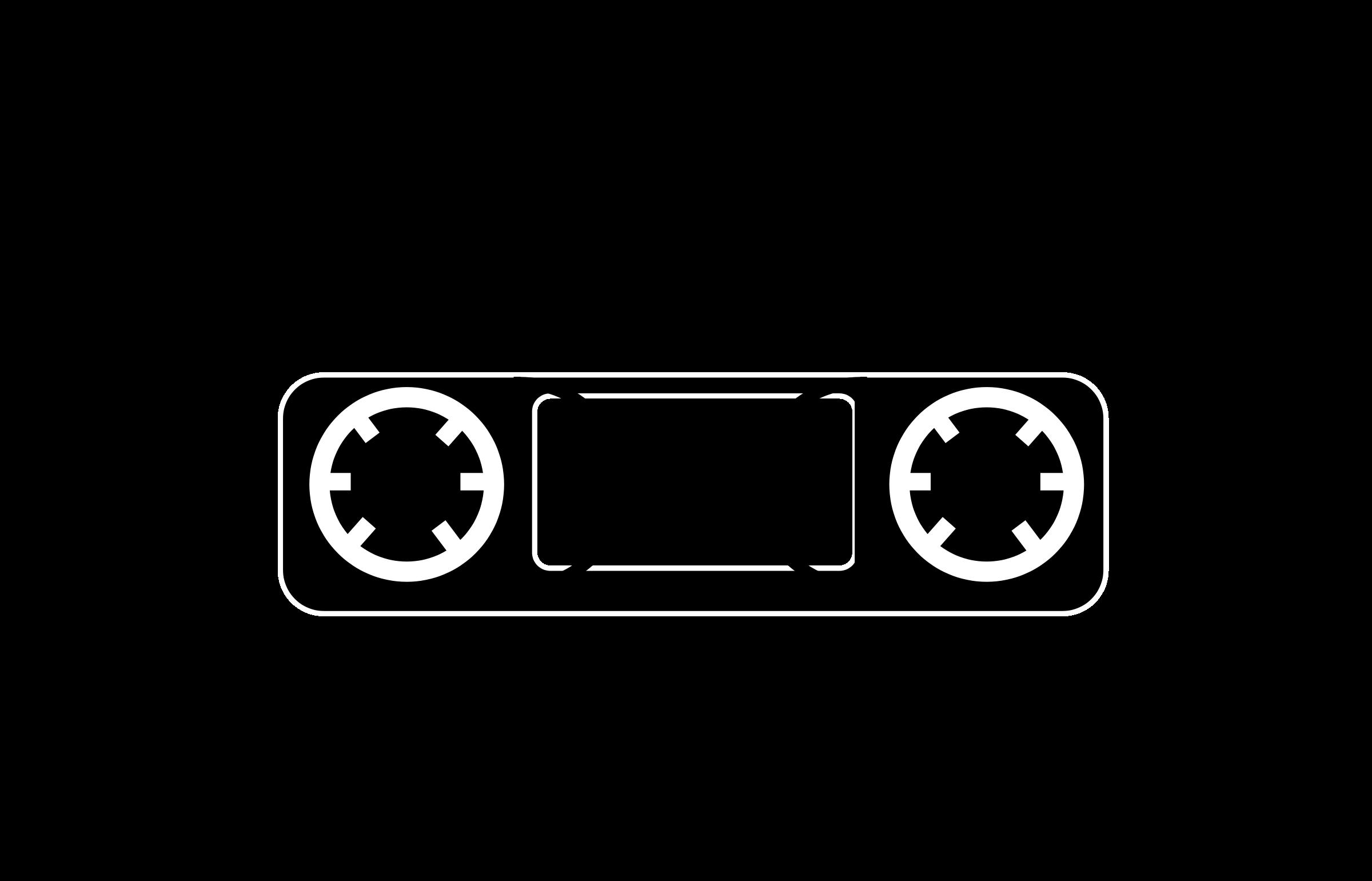 Clipart - Tape Cassette .-Clipart - tape cassette .-9