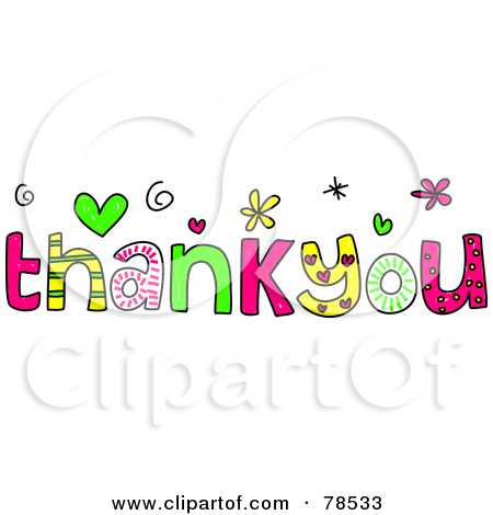 clipart thank you .