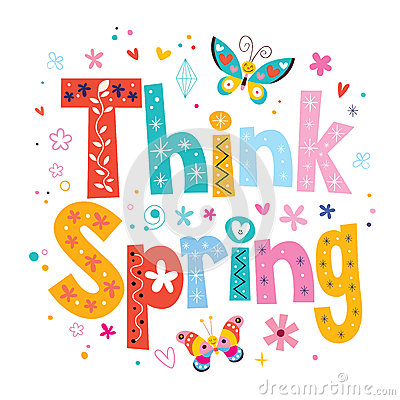 14 Think Spring Clip Art Free