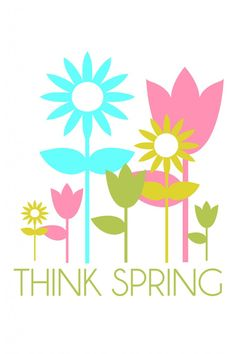 ... Clipart think spring ...