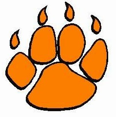 Clipart tiger paw - .