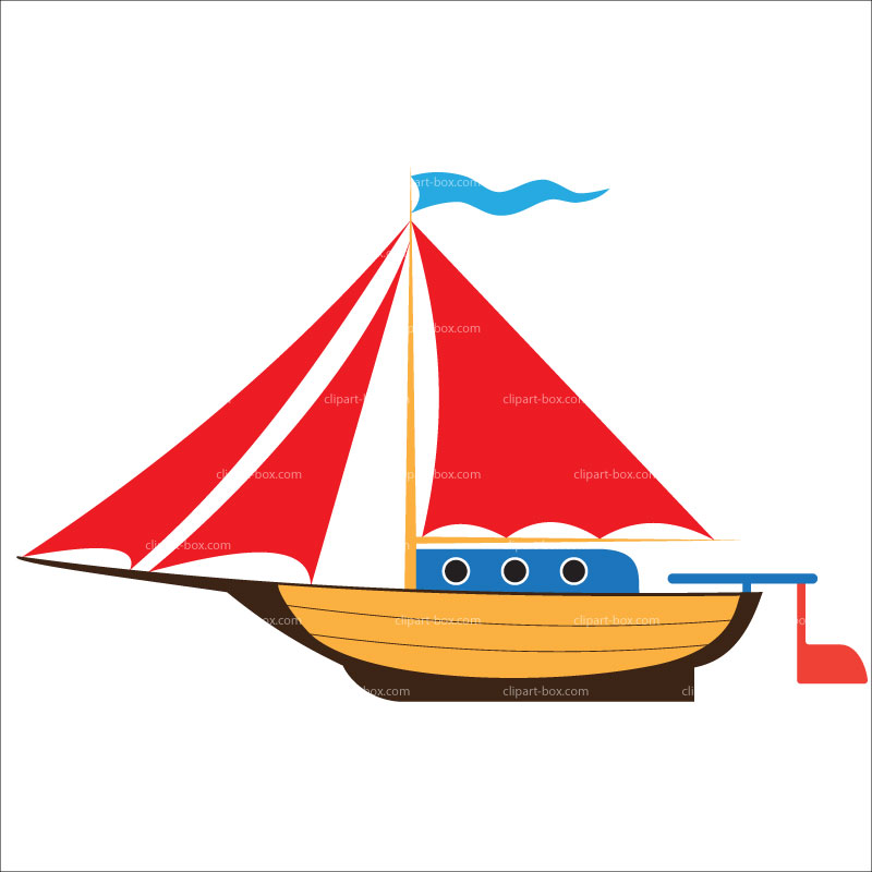 CLIPART TOY YACHT