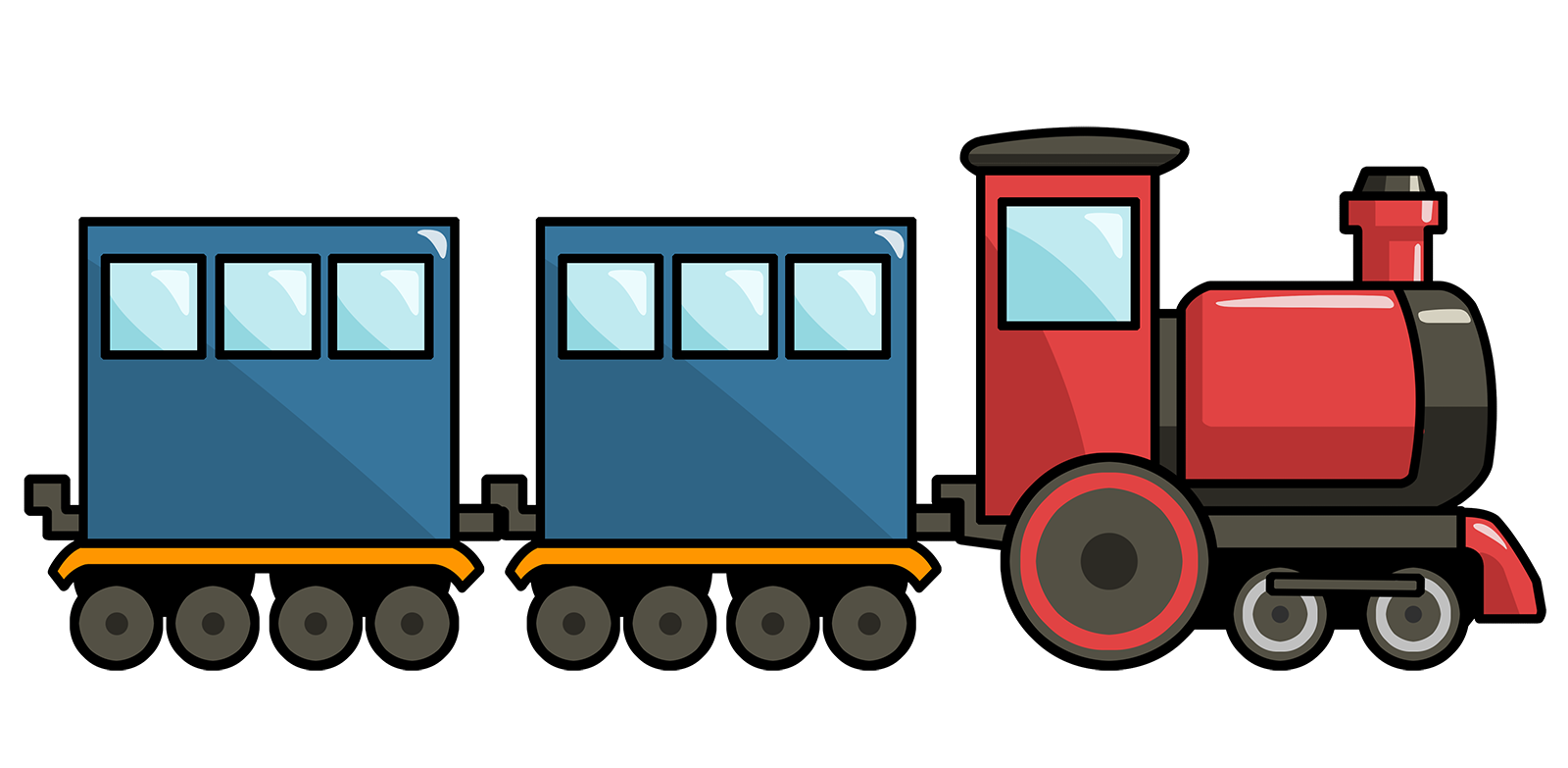 Clipart Train - clipartall .