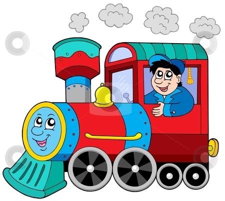 clipart train engine