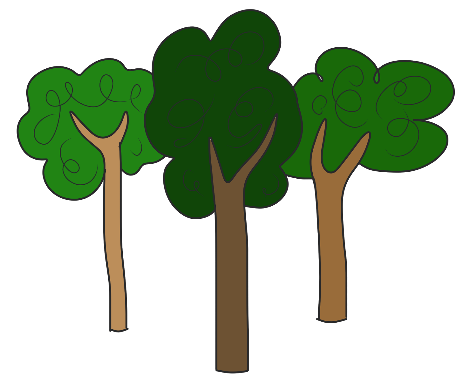 Clipart Trees Clipart-Clipart trees clipart-4