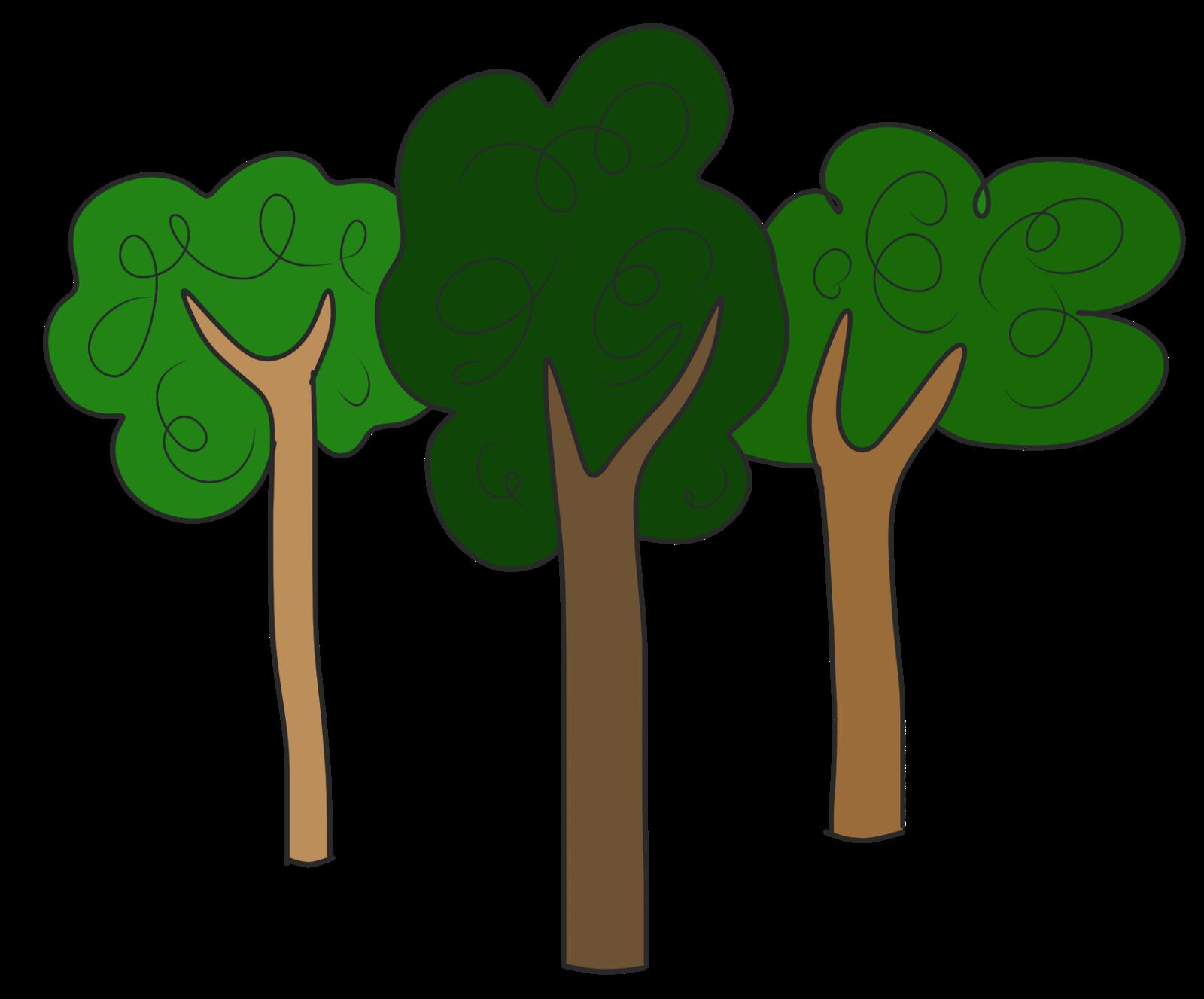 Trees simple tree clip art at
