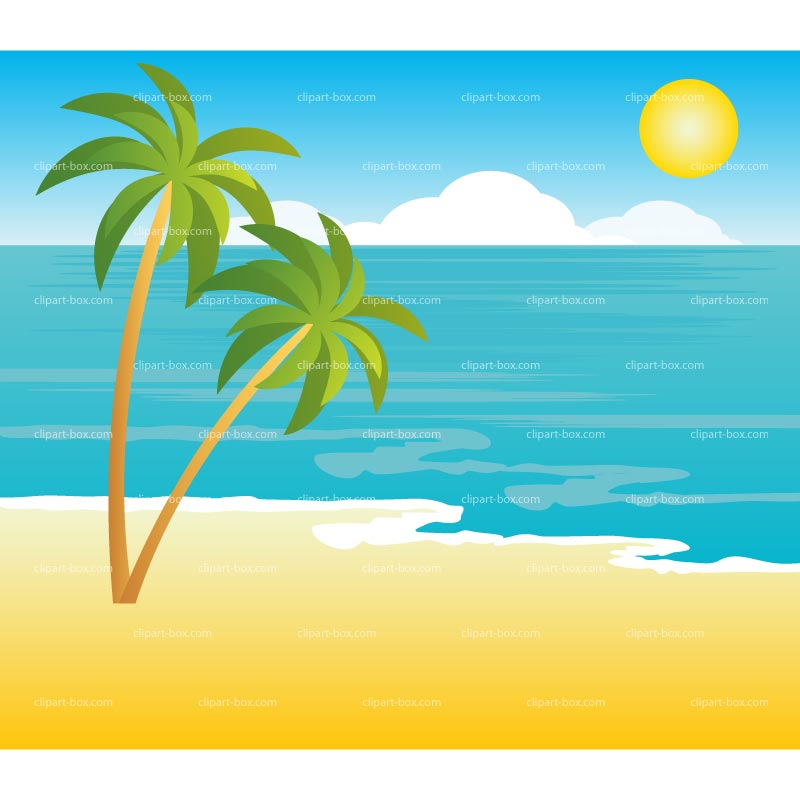 Clipart Tropical Landscape Royalty Free -Clipart Tropical Landscape Royalty Free Vector Design-3