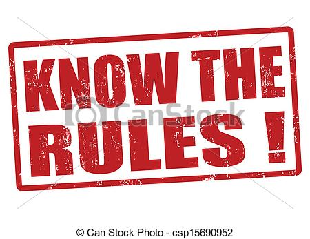 Clipart Vector Of Know The Rules Stamp Know The Rules Red Grunge