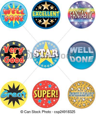 cartoon animal head stickers