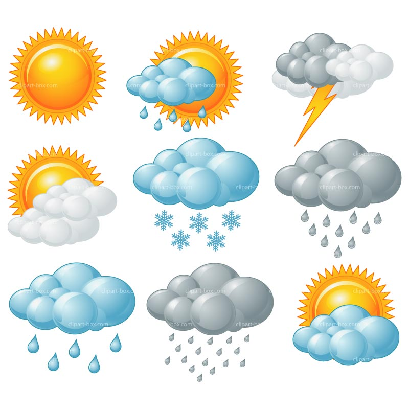 Clipart Weather Symbols-Clipart weather symbols-2