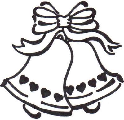 clipart wedding bells