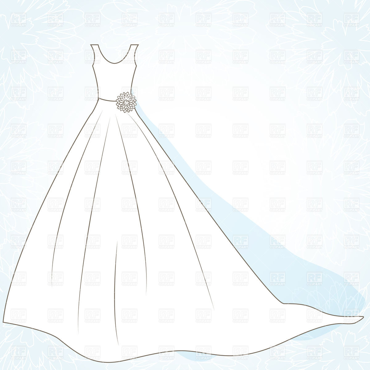 Clipart Wedding Dress Clipart ClipartFes-Clipart Wedding Dress Clipart ClipartFest-11