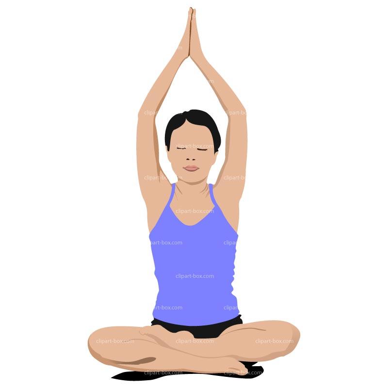 Clipart Yoga Position Royalty Free Vecto-Clipart Yoga Position Royalty Free Vector Design-1