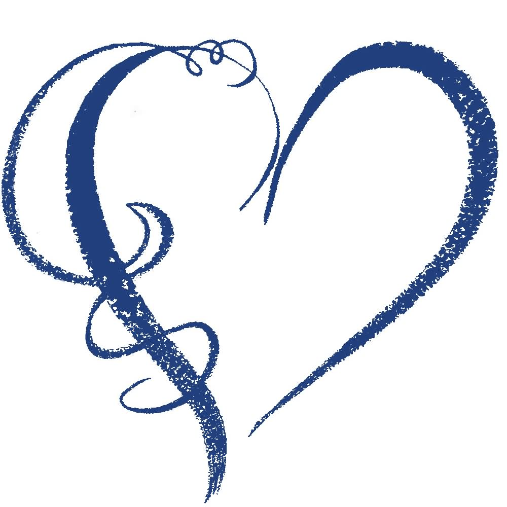 Clipartbest Com - Blue Heart Clipart