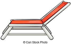 Clipartby Almoond19/923; Beach Chair - C-Clipartby almoond19/923; Beach chair - Close up red beach chair-9