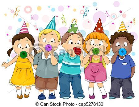 ... Clipartby Radenmas10/236; New Year C-... Clipartby radenmas10/236; New Year Celebration - Illustration of Kids  Celebrating New.-13