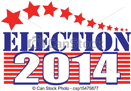 ... Clipartby vectorshots11/359; Election 2014 stars and stripes - Vector illustration of.