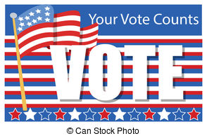 ... Clipartby vectorshots11/359; Election Day - Voting Banner - patriotic - Election Day.