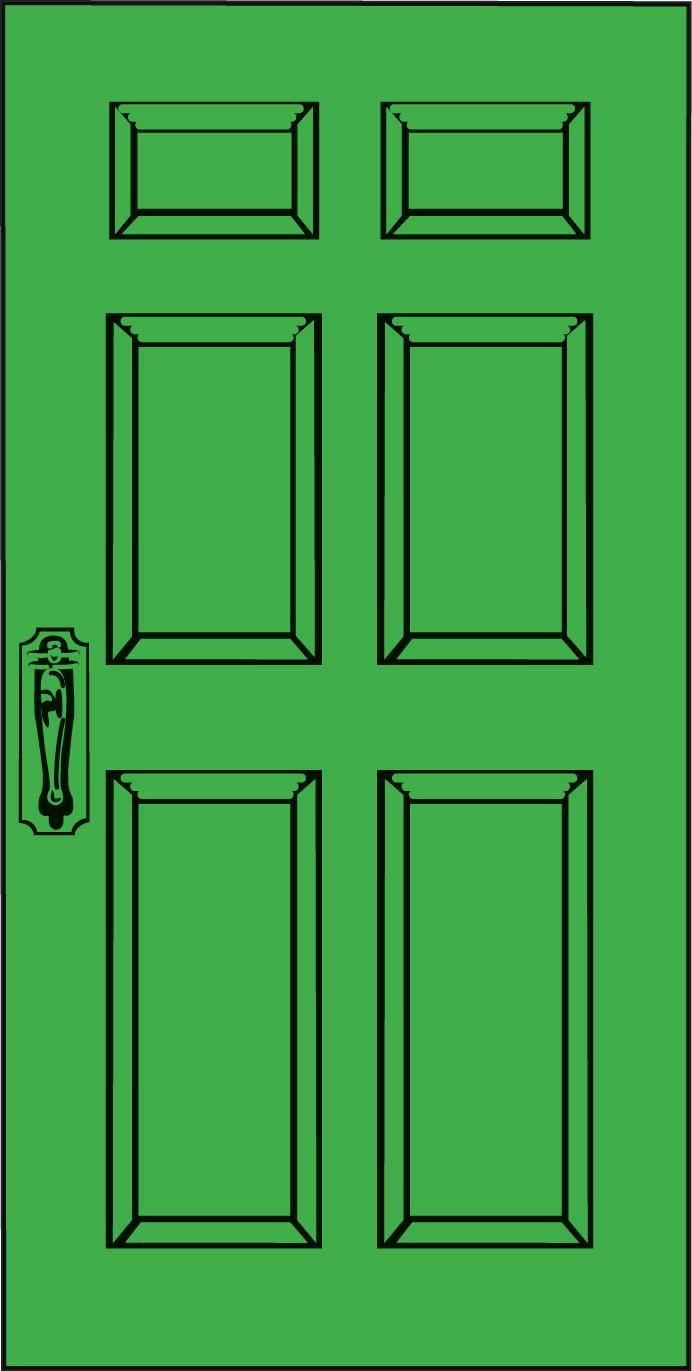 cliparti door clip art id- .