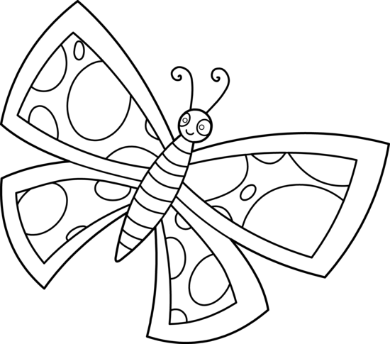 Cliparti1 Butterfly Clipart Black And Wh-Cliparti1 Butterfly Clipart Black And White u0026middot; Butterfly Line Art-17