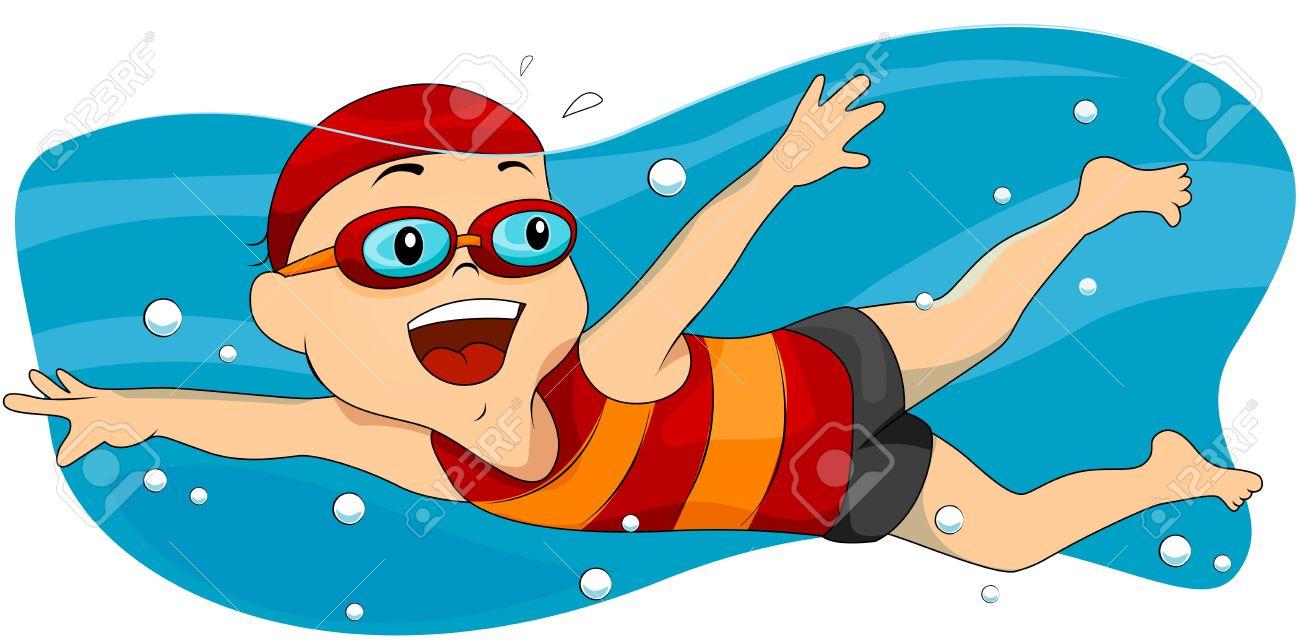 Cliparti1 Swimming Clip Art