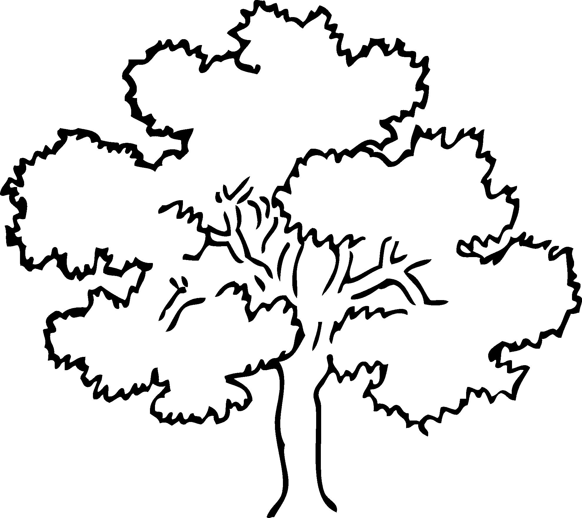 Cliparti1 Tree Clipart Black And White. -Cliparti1 Tree Clipart Black And White. oak clipart-4