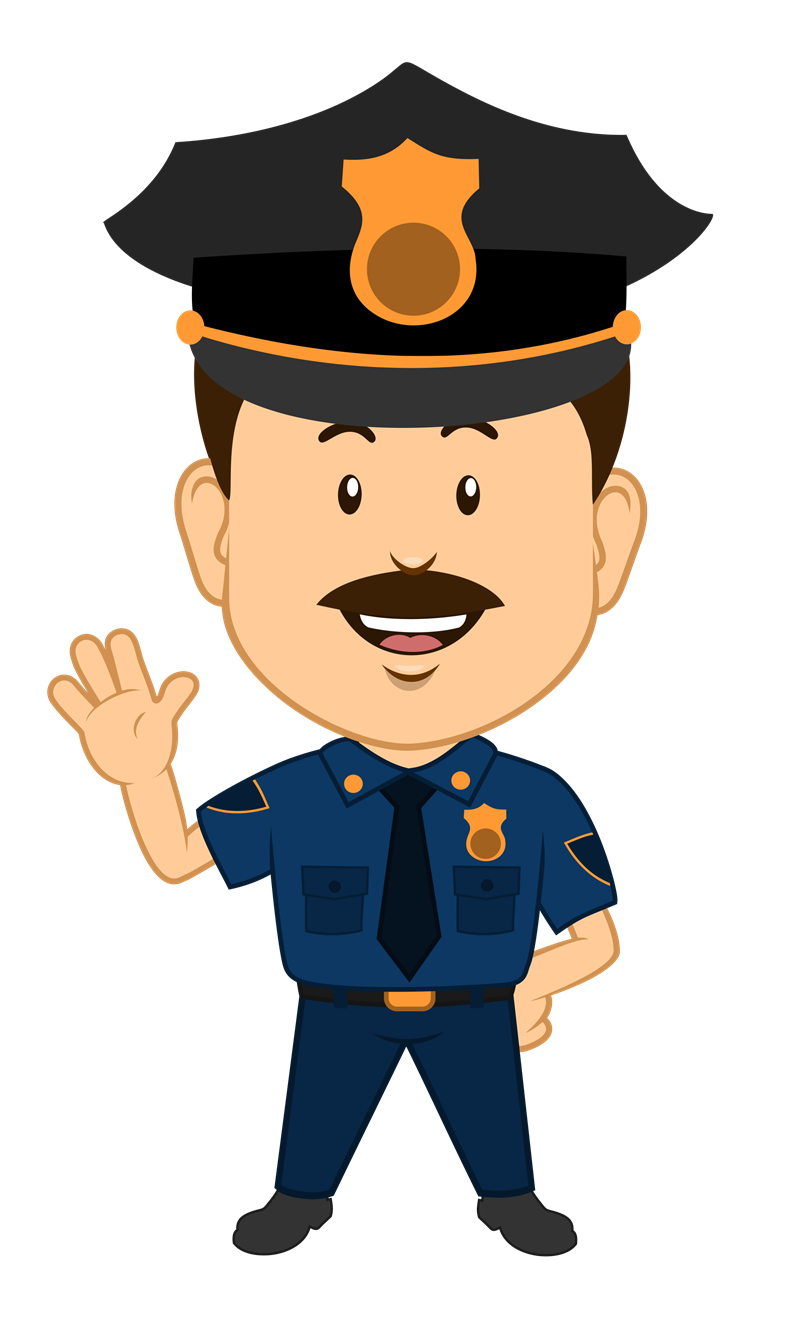 Clipartlord Com Exclusive This Cute Cartoon Clip Art Of A Policeman Is