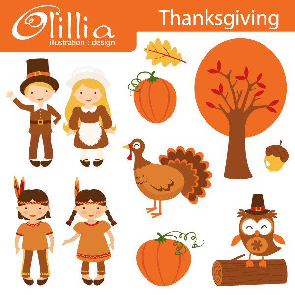 Cliparts Thanksgiving Clipart