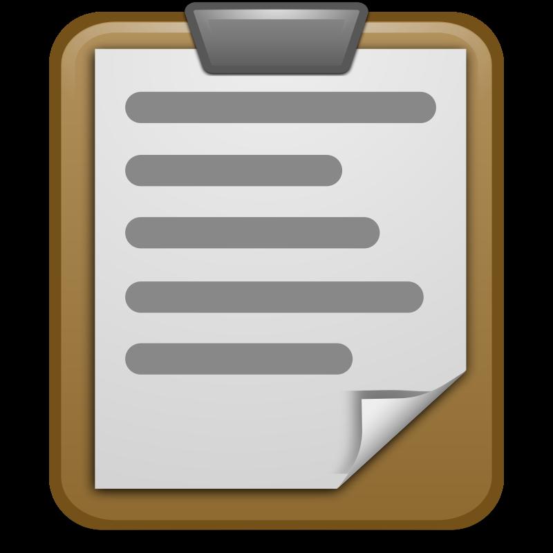 Clipboard Clipart-Clipboard Clipart-8