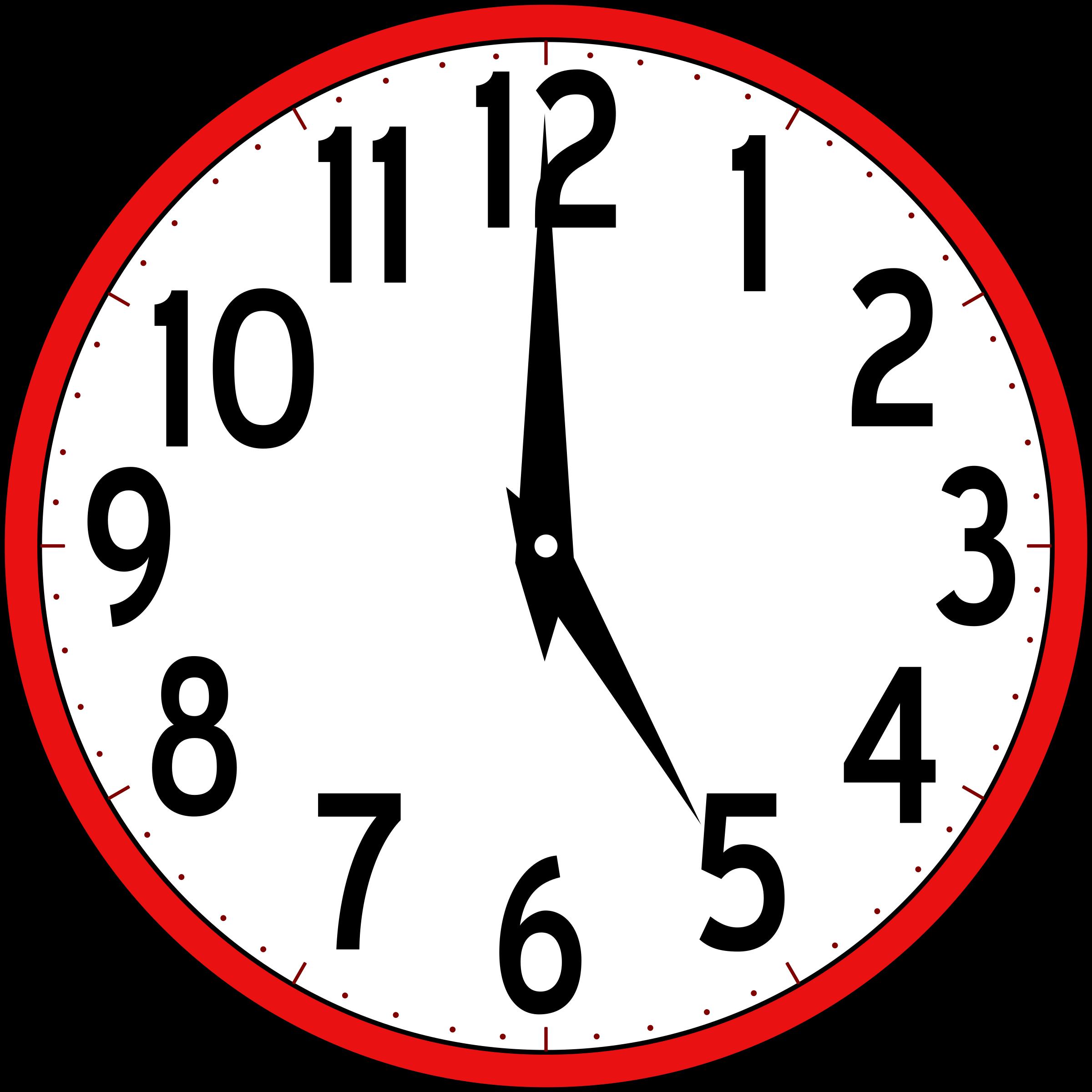 clock clipart-clock clipart-1
