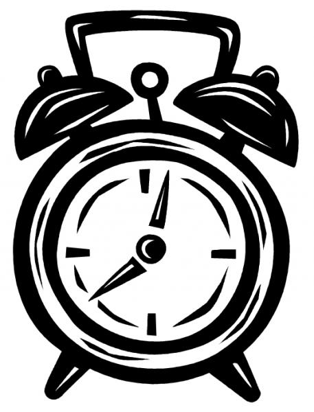 Clock clip art sick clock free