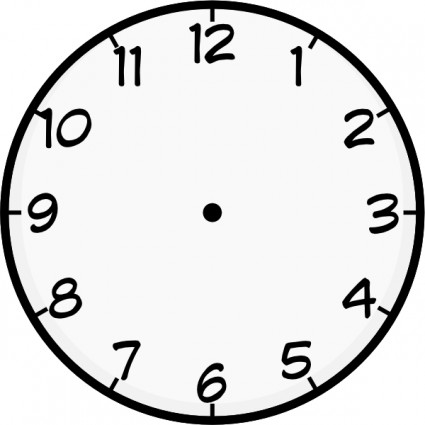 Clock clip art Vector clip art - Free vector for free download