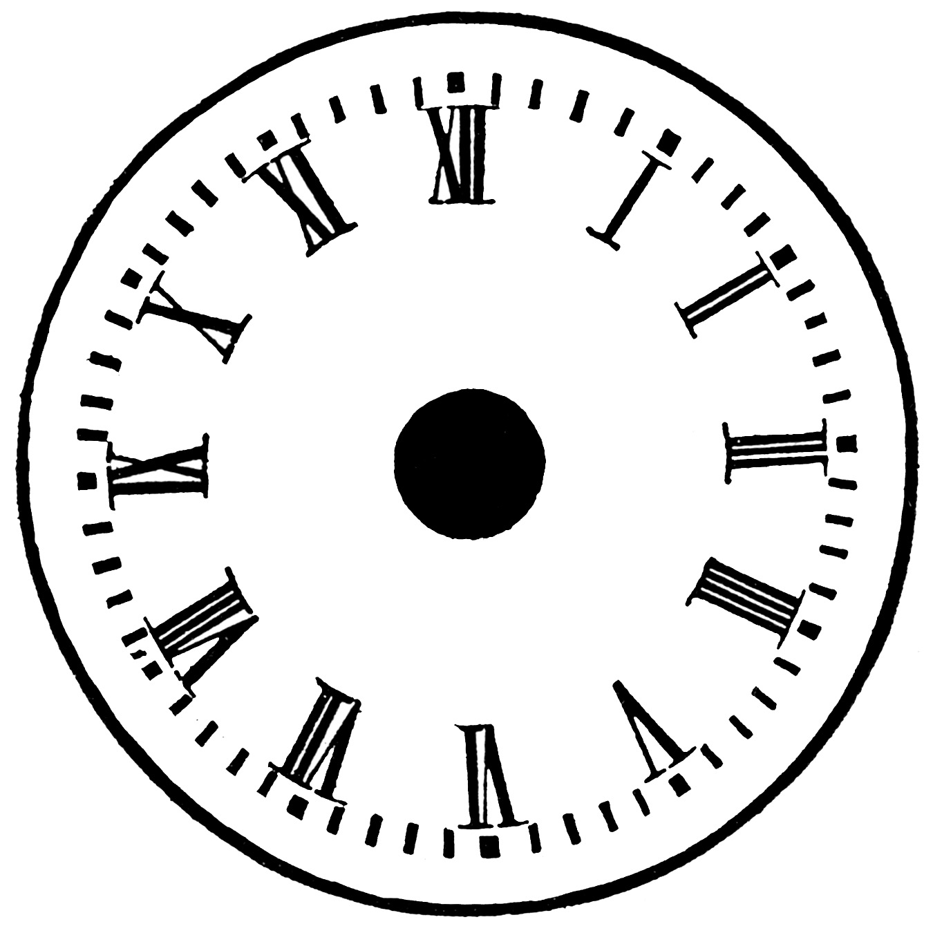... Clock Face For Children Parts ...