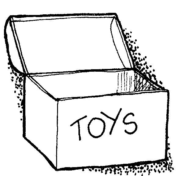 Closed Box Clipart Black And White Download By