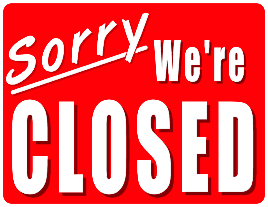 Closed Clipart-Closed Clipart-1