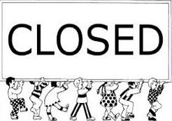 Closed Sign-Closed Sign-12
