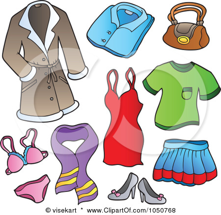 clothes clipart - Clip Art Clothing