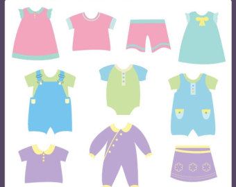 clothes line clipart u2013 Etsy