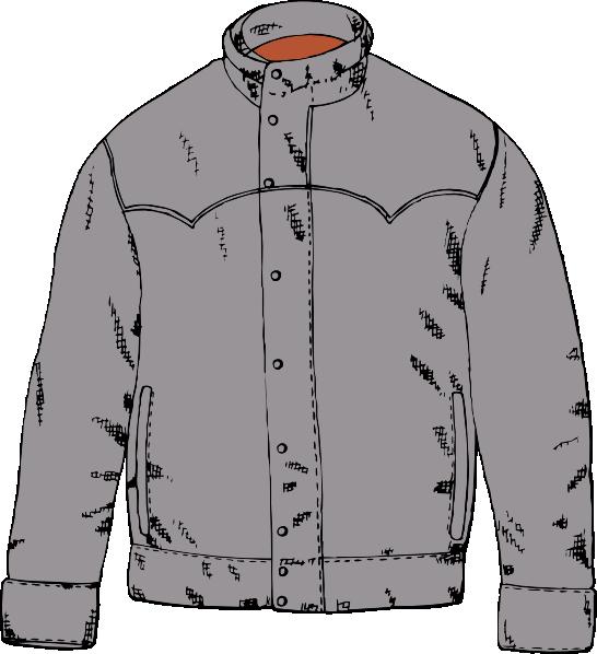 Clothing Jacket Clip Art - Vector Clip A-Clothing Jacket clip art - vector clip art online, royalty free-0