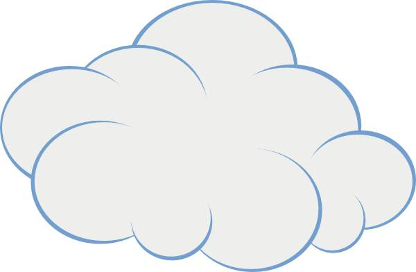 cloud clipart - Cloud Clipart