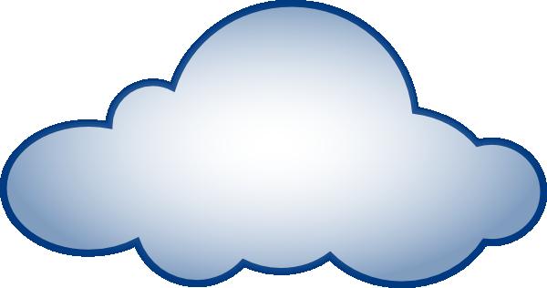 Cloud Clip Art Outline