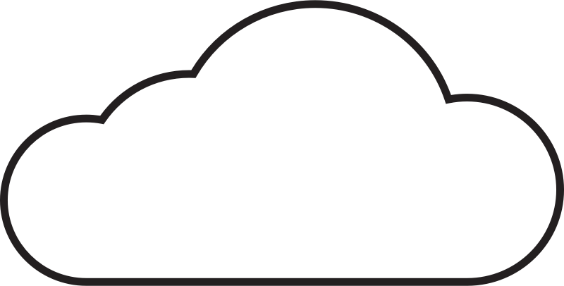 ... Cloud Clip Art - clipartall ...
