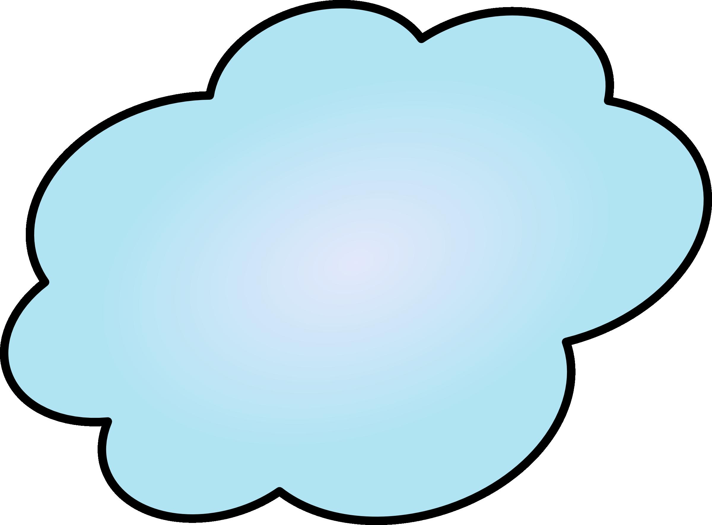 Cloud Clipart #12405