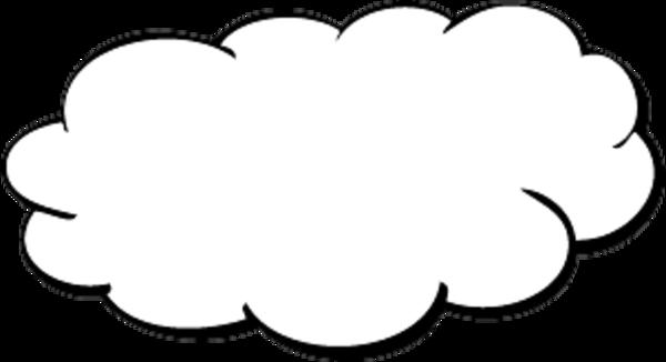 It Cloud Clipart #1