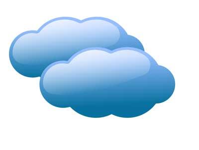 Cloudy Weather Clipart .-cloudy weather clipart .-11