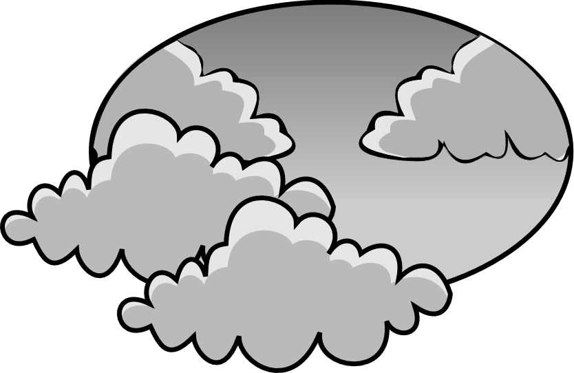 Cloudy Weather Clipart. Cloudy-Cloudy Weather Clipart. Cloudy-5