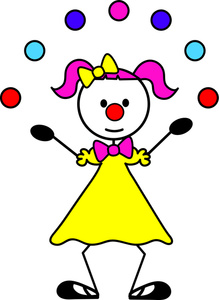 Clown Cartoon Clipart Image-Clown Cartoon Clipart Image-14