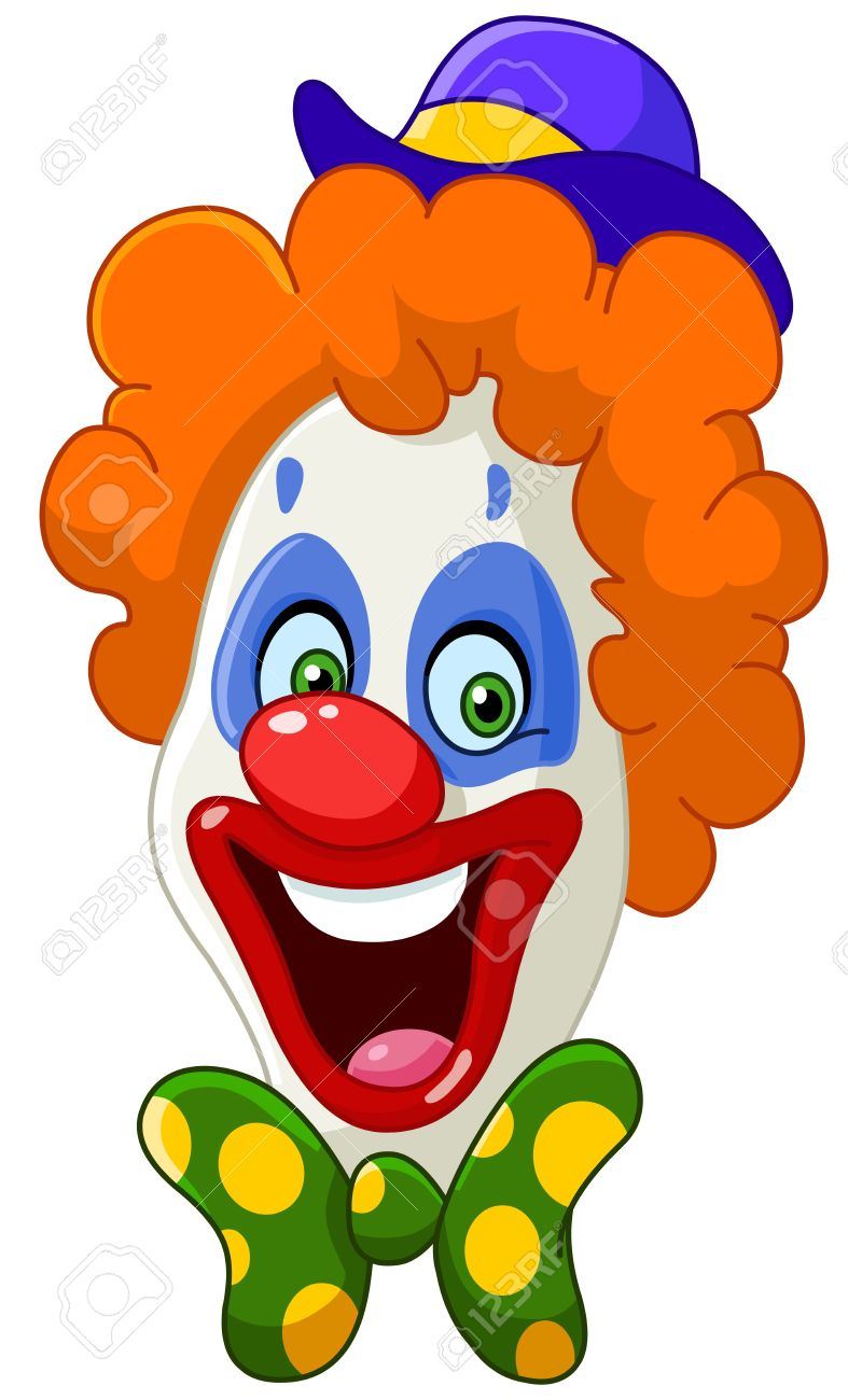 clown face: Clown face