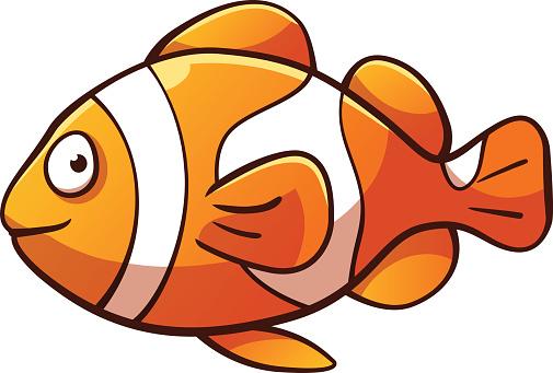 Clownfish clown fish cartoon clipart
